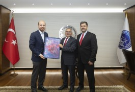 Erdoğan'dan Başkan Büyükkılıç'a ziyaret