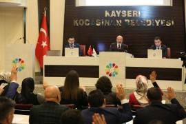 Kocasinan'da seçimden sonraki ilk meclis toplantısı yapıldı