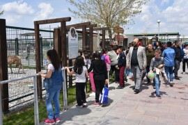 Kocasinanlı çocuklar, bilim merkezi ve hayvanat bahçesinde