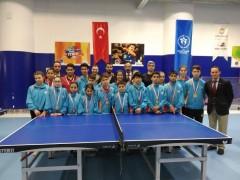 Masa Tenisi 4. Etap Yerel Lig Müsabakaları Tamamlandı