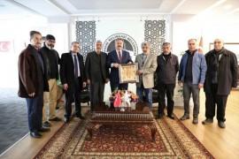 """Melikgazi Belediye Başkanı Dr. Mustafa Palancıoğlu """"Kayseri Erciyes Sanat Derneği ile Sanatsal ve kültürel çalışmalarımıza ve projelerimize katkı sağlayacağız"""""""