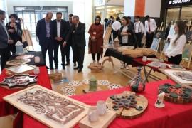 Ahi Evran Mesleki ve Teknik Anadolu Lisesi tarafından sanat ve tasarım sergisi düzenlendi