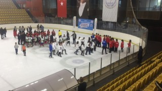 Buz Hokeyi Analig'de Kayseri Takımı Türkiye Dördüncüsü Oldu