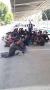 Kayseri'de 21 kaçak göçmen yakalandı