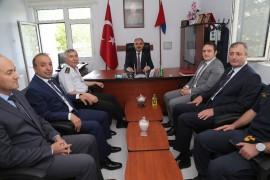 Vali Günaydın Pınarbaşı'nda