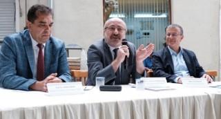 KAYÜ Rektörü Karamustafa, Bergama'da Turizm Paneline Katıldı