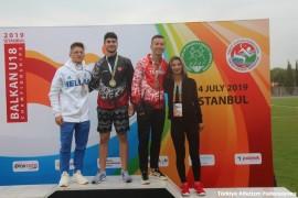 Balkan Şampiyonasından Bir Altın, Bir Bronz Madalya