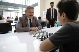 """Başkan Palancıoğlu: """"Satranç strateji ve zihinsel gelişim açısından çok önemlidir"""""""