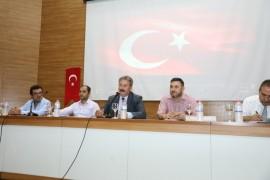 Başkan Palancıoğlu köy pazar esnafıyla toplantı yaptı