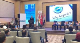 KAYSO Erbil'de Düzenlenen Ticaret ve Yatırım Zirvesine Katıldı
