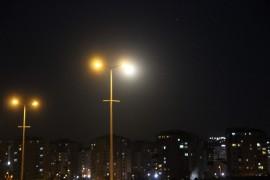 """""""Parçalı Ay Tutulması"""" Kayseri'den gözlemlendi"""