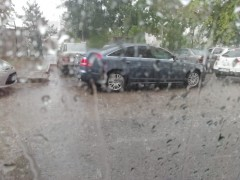 Kayseri'de yağmur etkili oldu