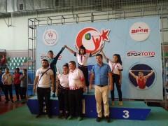 Yıldızlar Ferdi Türkiye Halter Şampiyonasından 1 gümüş, 1 bronz madalya