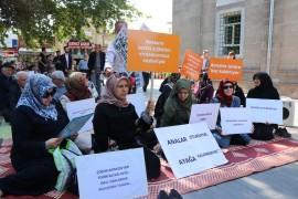 Kayseri'de, Diyarbakır'daki annelere destek sürüyor