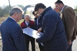 """Başkan Palancıoğlu: """"Yaza kadar yol genişletme çalışmalarını bitireceğiz"""""""